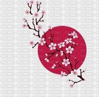 Fond fleur japon