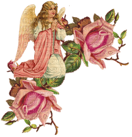 Kaz_Creations Victorian Angel With Flowers