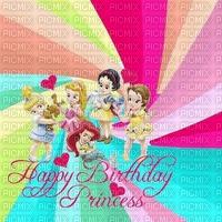 image encre couleur texture princesses Disney anniversaire dessin effet pastel edited by me