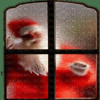 santa window noel fenetre