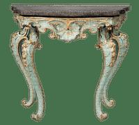 vintage table deco tableau