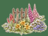 Frühling, Blumen, Zaun