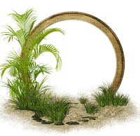 cadre cercle herbe frame grass circle