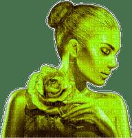 femme,rose,vert,visage,Pelageya