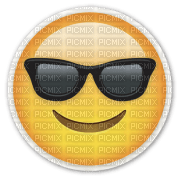 smiling face cool emoji