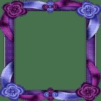 blue purple frame bleu cadre violet