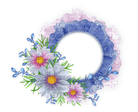 Kaz_Creations Deco  Flowers Circle  Frames Frame