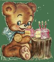 birthday bear cake paintinglounge