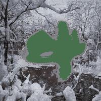 winter forest frame hiver cadre forêt