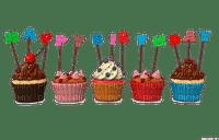 happy  birthday cup cakes petit gâteau de anniversaire