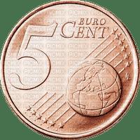 Pièce de 5 centimes euro € coin money sous