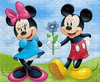 image encre paysage la nature Minnie Mickey Disney effet edited by me