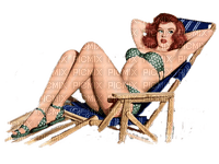 summer woman femme êtê pin up