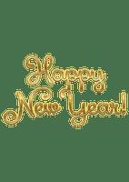 Happy New Year, Hyvää Uutta-Vuotta, teksti, text