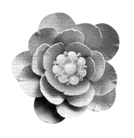 Grey Flower Deco