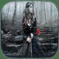 goth woman femme gothique
