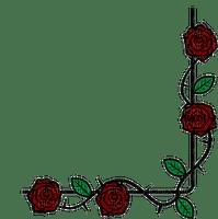Frame roses