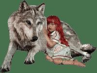 loly33 enfant fillette loup