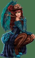 femme, parasol,steampunk,autumn, Pelageya