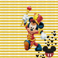 image encre bon anniversaire rayures color effet  Mickey Disney edited by me