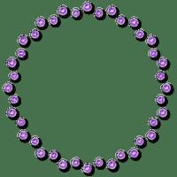 Purple Frame Circle