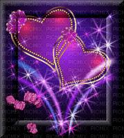 fiolet,fond,deko,rose,cœur, Orabel