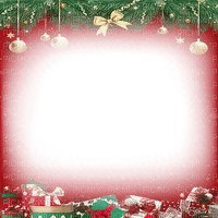 soave frame christmas ball branch red green gold
