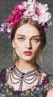 image encre couleur texture femme visage fleurs chapeau mariage edited by me