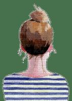 woman watercolor / femme aquarelle