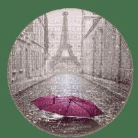 paris in rain pluie parapluie paysage