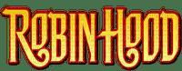 robin hood text logo