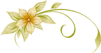 jaune fleur deco yellow flower