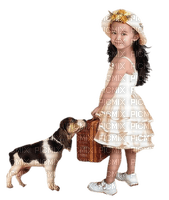 Kaz_Creations Baby Enfant Child Girl Dog Pup