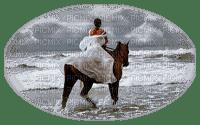 FEMME CHEVAL MER WOMAN HORSE OCEAN