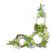 FLOWER CORNER DECO FLEUR COIN