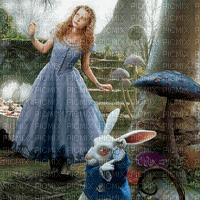 alice in wonderland bg transparent Disney movie fond