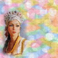 image encre couleur effet femme texture pastel arc en ciel bulles edited by me