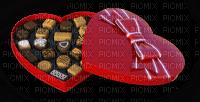 box of chocolates heart Valentine's Day
