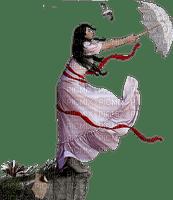 mujer con paraguas by EstrellaCristal