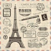 Fond Vintage Paris