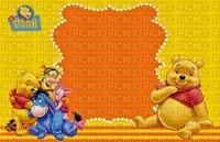 image encre couleur Pooh Eeyore Disney anniversaire effet edited by me