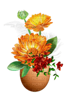 image encre fleurs joyeux anniversaire automne ornement edited by me