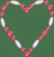 Kaz_Creations Deco Beads Heart Love Colours