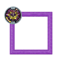 small purple frame