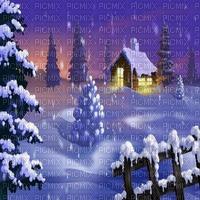 winter house bg gif hiver fond maison