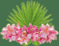 tropical flowers deco fleur