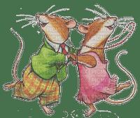 cute mouse music dance