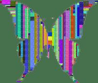 abstract abstrakt abstrait deco tube  art effect effet effekt kunst  overlay fond background colorful butterfly papillon