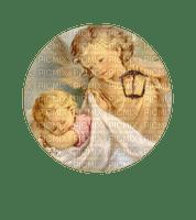 Guardian Angel Child w/Lamp