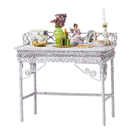 furniture table tisch vintage white möbel meubles tube room chambre zimmer deco